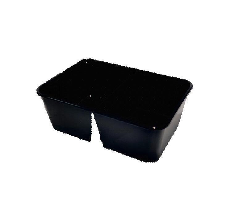 HQ Magnetron 174/70 D1000 2x500 ml black